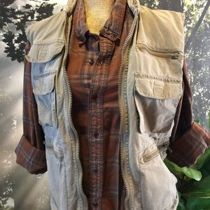 Vintage Banana Republic Fishing Vest Photography